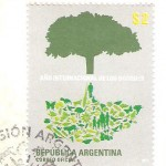 Stamp from Argentina