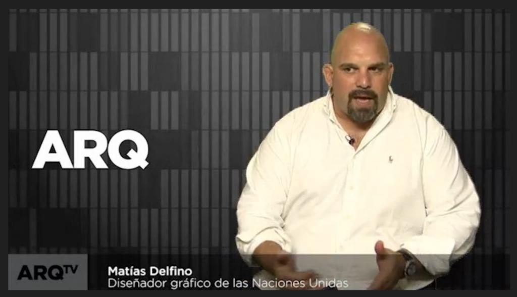 El diseñador Matias Delfino cuenta su experiencia en la ONU y cómo llegó a trabajar en la sede de esta importante entidad internacional.