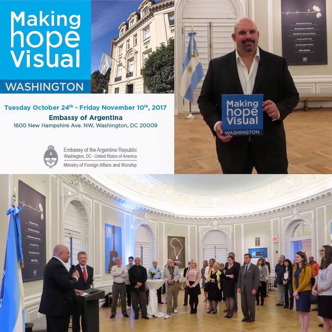Celebrating United Nations Day bringing Making Hope Visual
